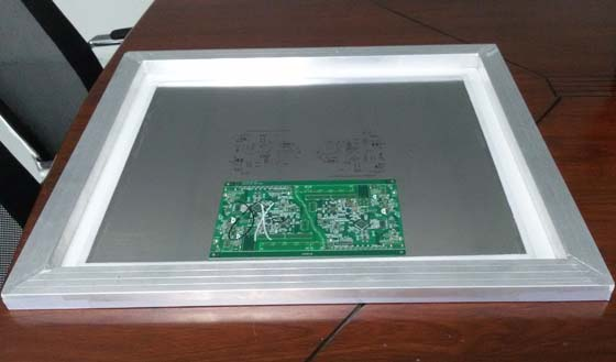 SMT steel mesh laser cutting sample
