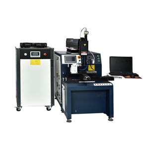 Automatic laser welding machine(four-shaf